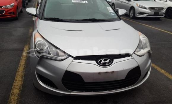 Buy Used Hyundai Veloster Silver Car in Tbilisi in Tbilisi