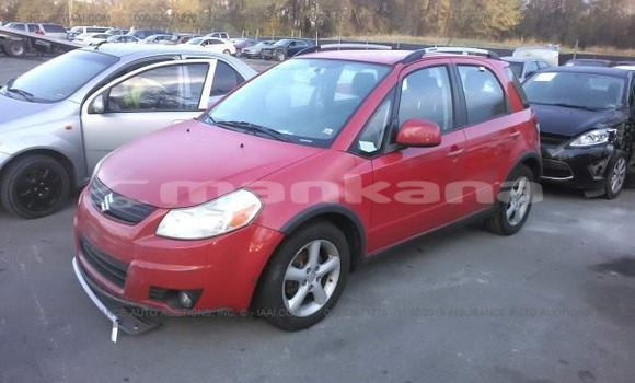 Buy Used Suzuki SX4 Red Car in Tbilisi in Tbilisi