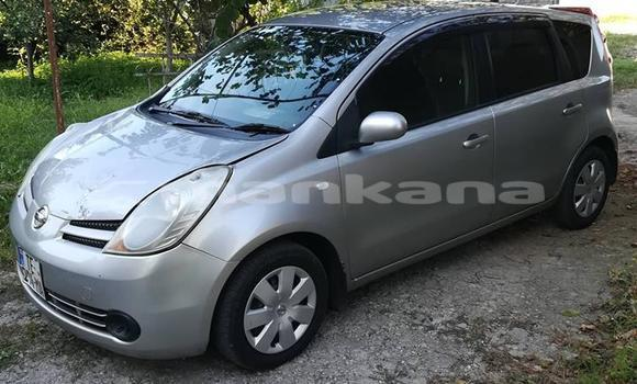 Buy Used Nissan Note Silver Car in Tbilisi in Tbilisi