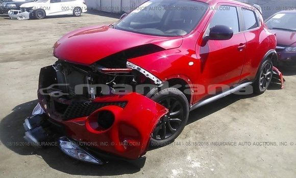 Buy Used Nissan Juke Red Car in Tbilisi in Tbilisi