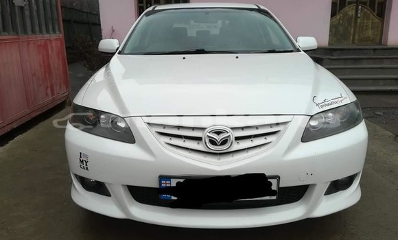 Buy Used Mazda Familia White Car in Suhumi in Abhasia