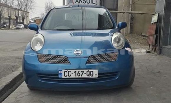 Buy Used Nissan March Blue Car in Tbilisi in Tbilisi