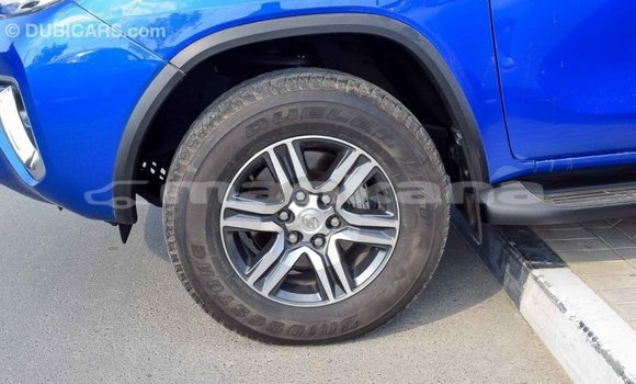 Buy Import Toyota Fortuner Blue Car in Import - Dubai in Abhasia