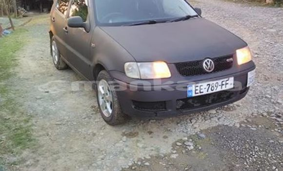 Buy Used Volkswagen Polo Black Car in Tbilisi in Tbilisi