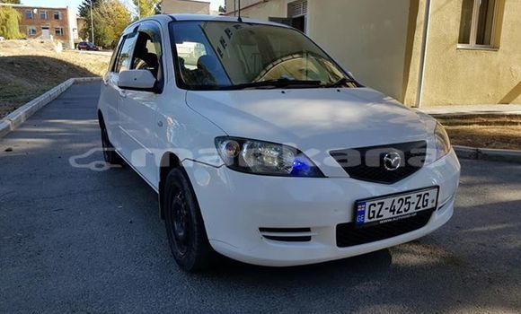 Buy Used Mazda Demio White Car in Tbilisi in Tbilisi