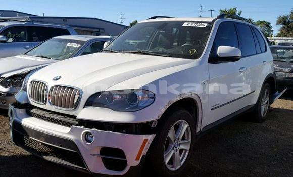 Buy Used BMW X5 White Car in Tbilisi in Tbilisi
