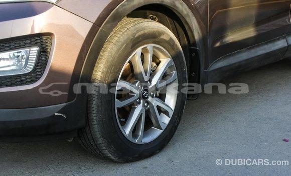 Buy Import Hyundai Santa Fe Brown Car in Import - Dubai in Abhasia