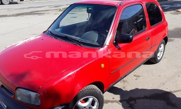 Buy Used Nissan Micra Red Car in Tbilisi in Tbilisi