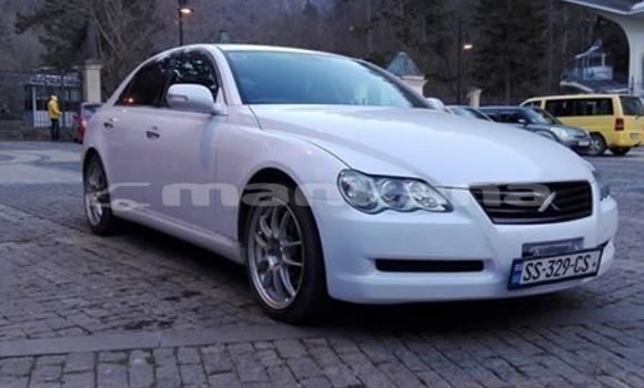 Buy Used Toyota Mark X White Car in Tbilisi in Tbilisi