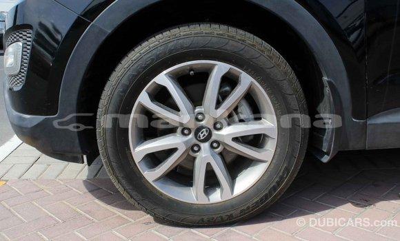 Buy Import Hyundai Santa Fe Black Car in Import - Dubai in Abhasia