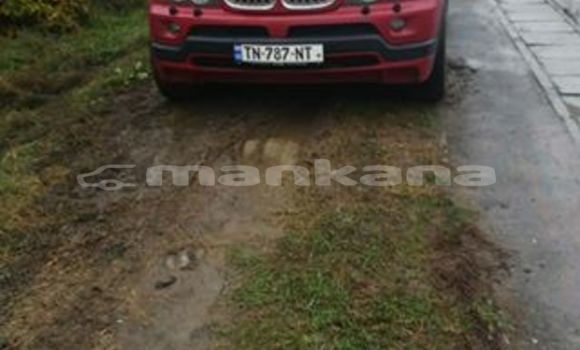 Buy Used BMW X5 Red Car in Tbilisi in Tbilisi