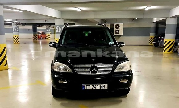 Buy Used Mercedes‒Benz ML–Class Black Car in Tbilisi in Tbilisi